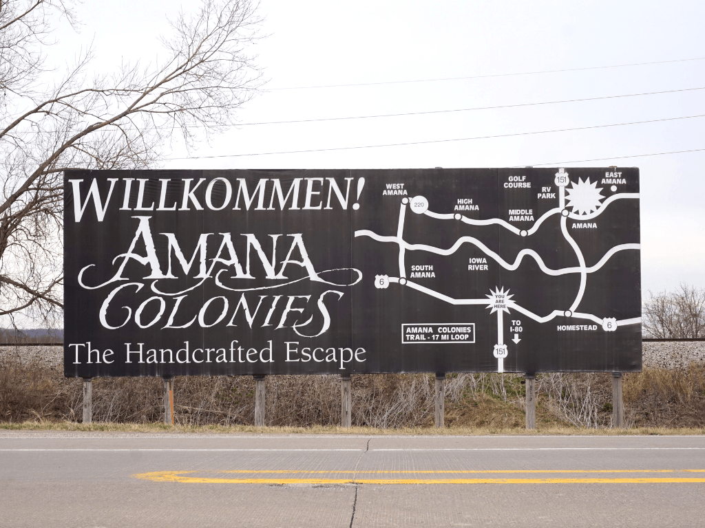 Visiting the Amana Colonies is one of the most unique things to do in Eastern Iowa