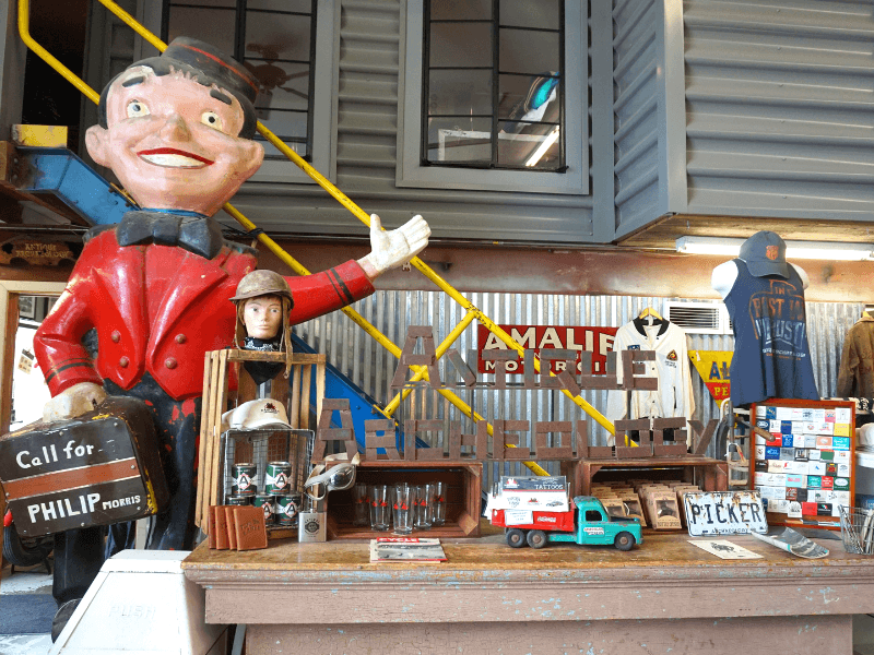 Antique Archaeology in LeClaire, Iowa