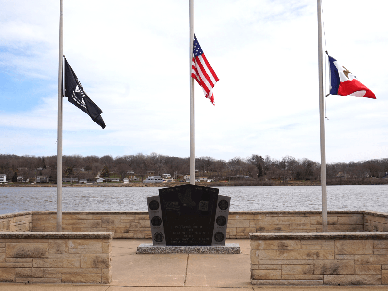 LeClaire Veteran's Memorial