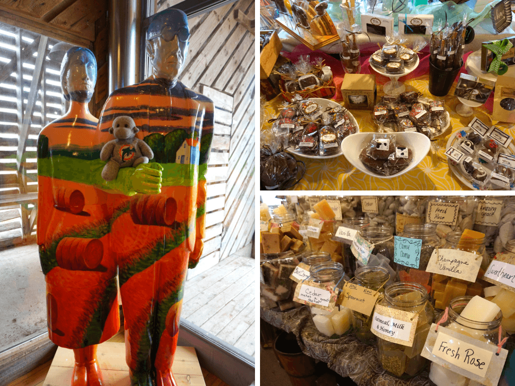 Some of the things you'll see at the Amana Colonies