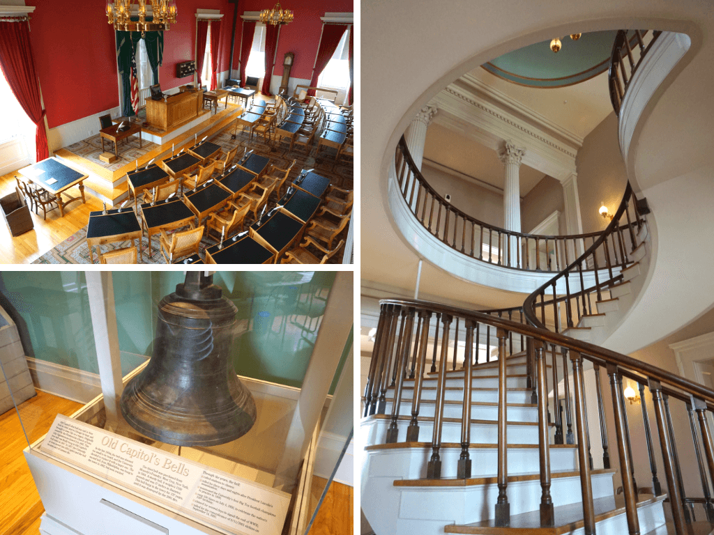 Inside the Old Capitol in Iowa City