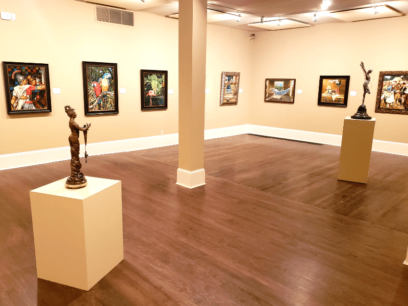 Work by Richard Cecil at the Marietta/Cobb Museum of Art