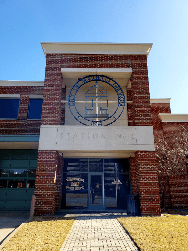 Marietta Fire Department Museum is one of the things to do in Marietta ga for free