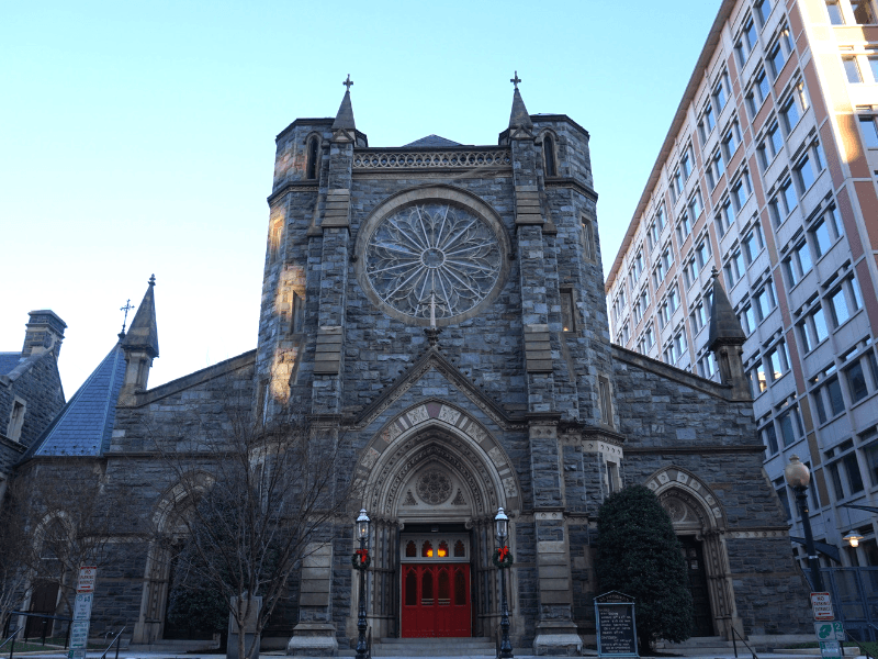 St Patrick's Catholic Church in Washington DC