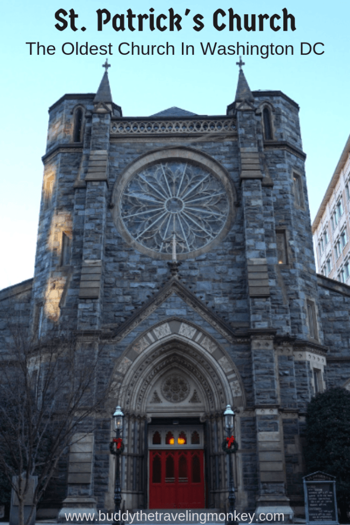 Of all the churches in Washington DC, St Patrick's Catholic Church is unique because it is considered the oldest church in Washington DC!
