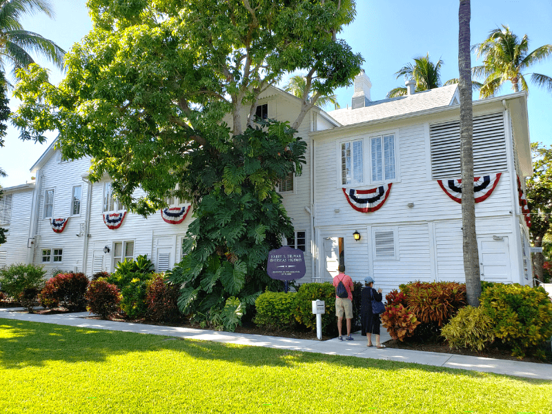 Truman Little White House in Key West, Florida