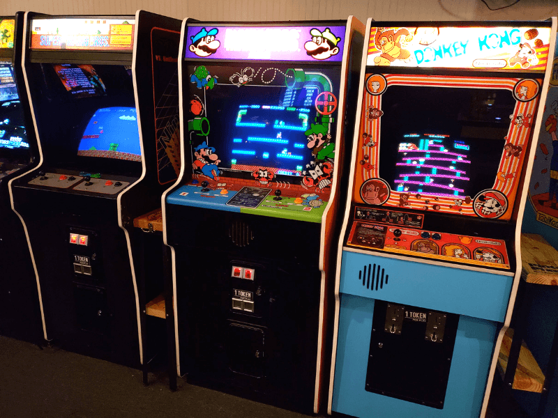 Arcade games inside Pints And Pixels make it one of the most fun things to do in Huntsville Alabama