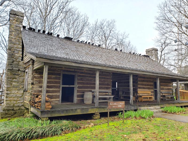 the historic farm homes on Burritt mountain often have fun Huntsville activities