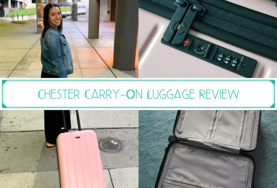 Chester Carry-On Luggage Review