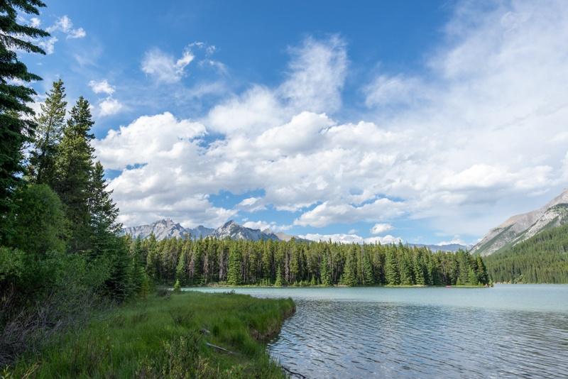 More views of Two Jack Lake