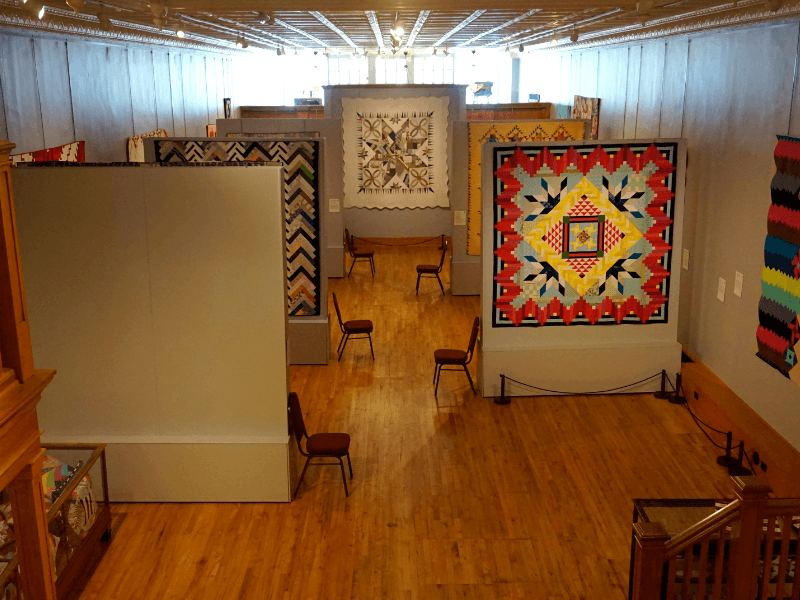 Inside the Iowa Quilt Museum