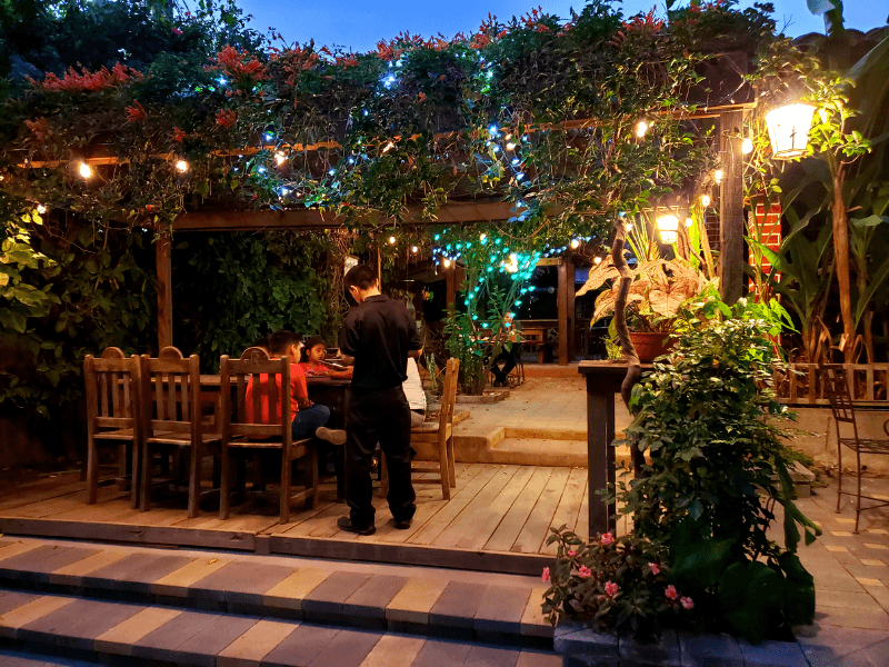 Cafe San Rafael / San Rafael Wine Bar is where to eat in Copan Ruinas Honduras