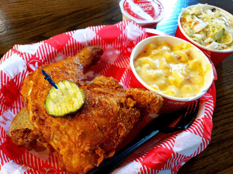 Hattie B's Hot Chicken is the perfect way to start a weekend in Nashville