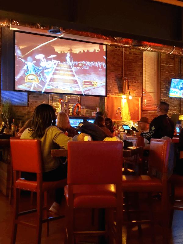 Guitar Hero at HG Beercade
