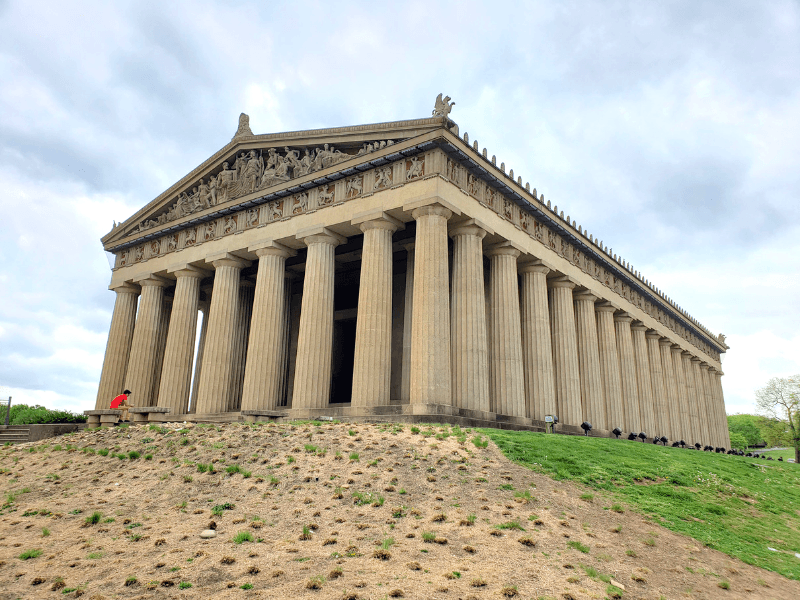 The Nashville Parthenon is one of the top Nashville tourist attractions