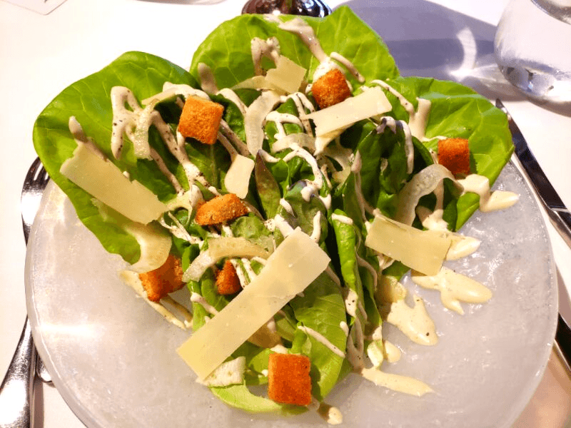 Gem Lettuce Salad from Cotton Row, one of the best Huntsville restaurants