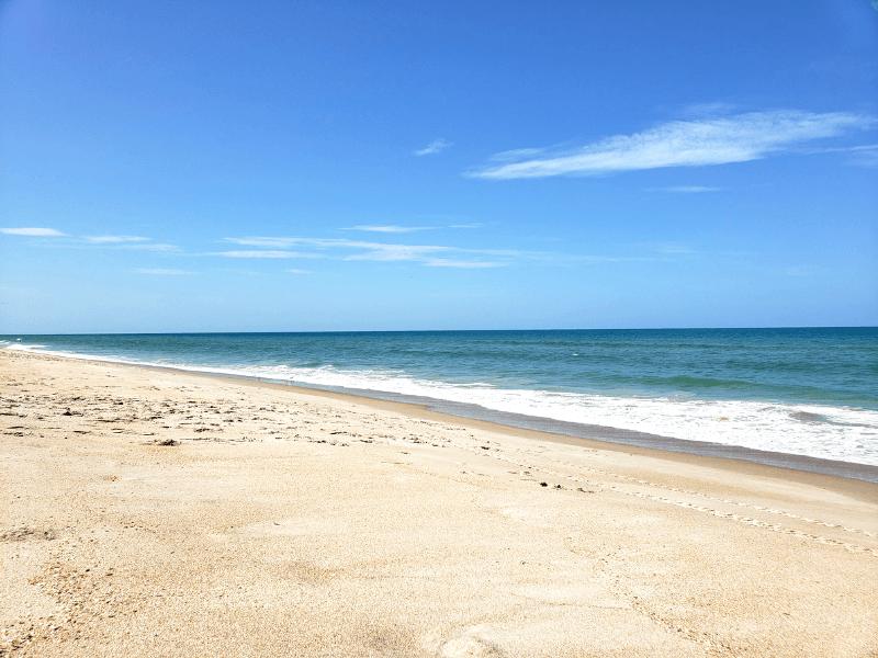 Playalinda Beach in Canaveral Seashore