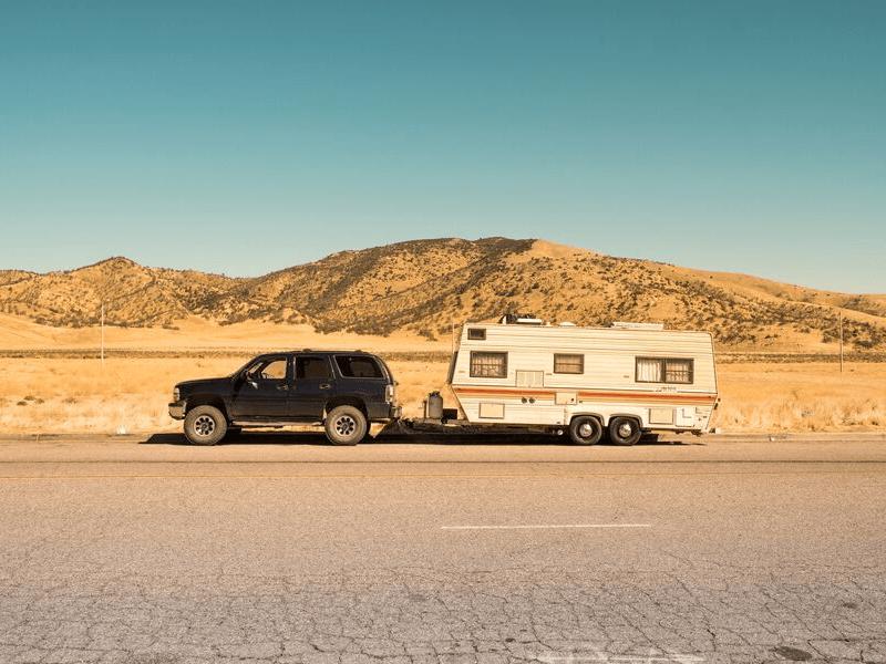 Campervan or caravan? Caravans offer more flexibility if you have kids
