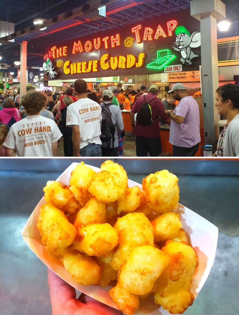 Mouth Trap Cheese Curds at the Minnesota State Fair