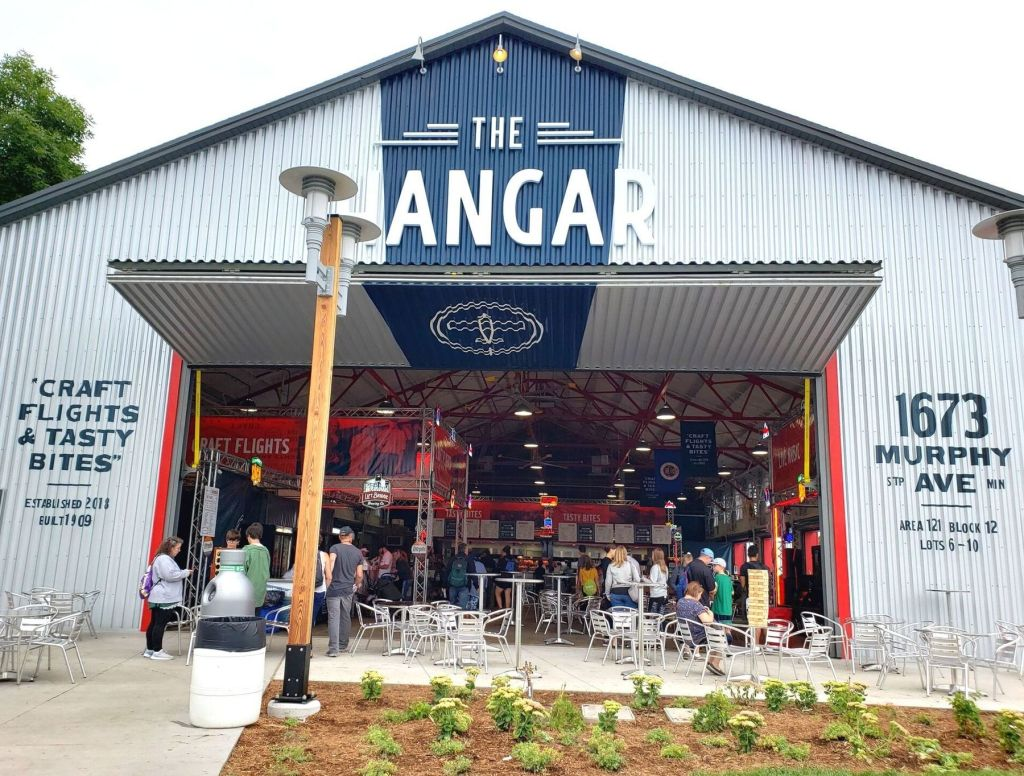 The Hanger serves beer flights at the Minnesota State Fair