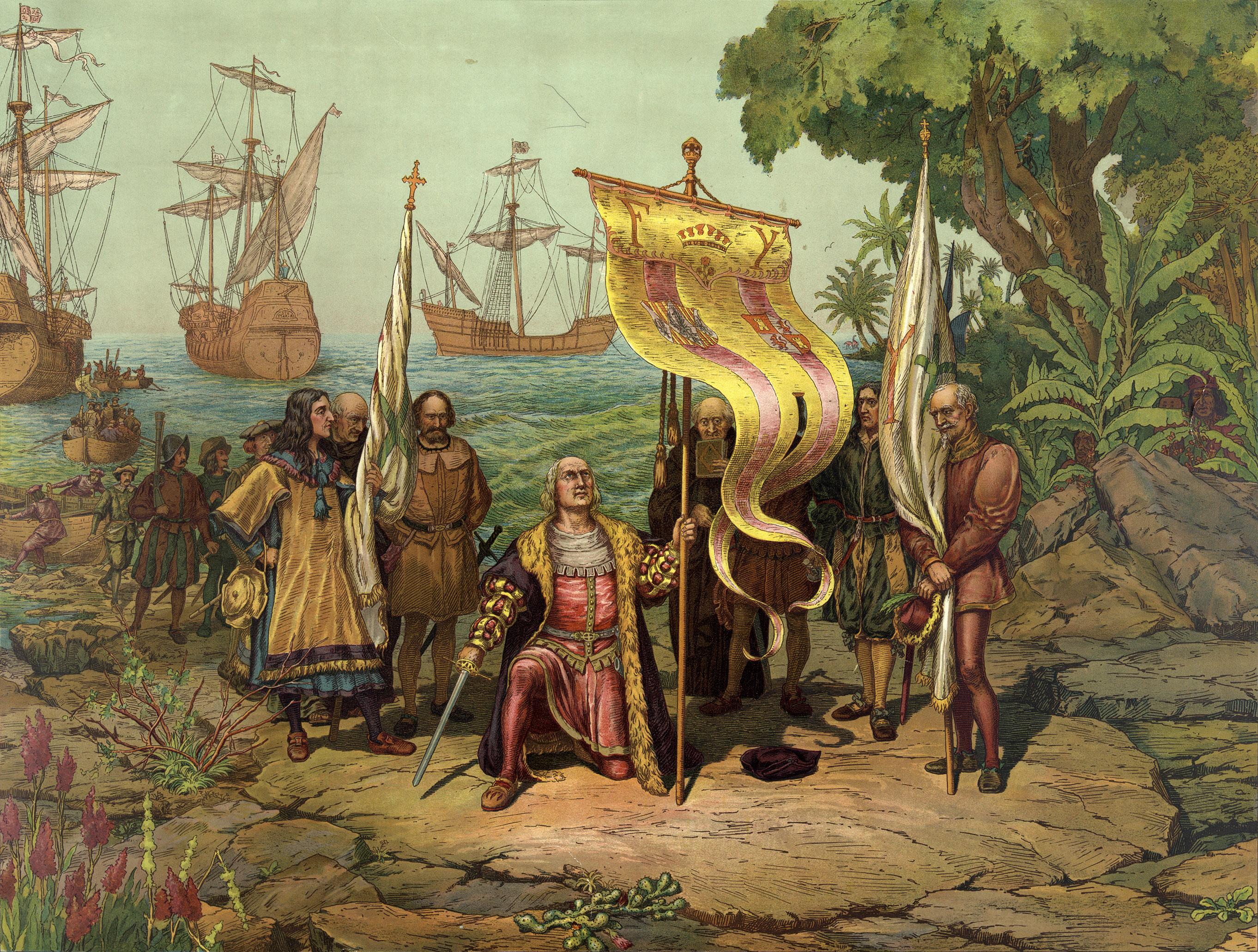 Христофор Колумб - открытие Америки