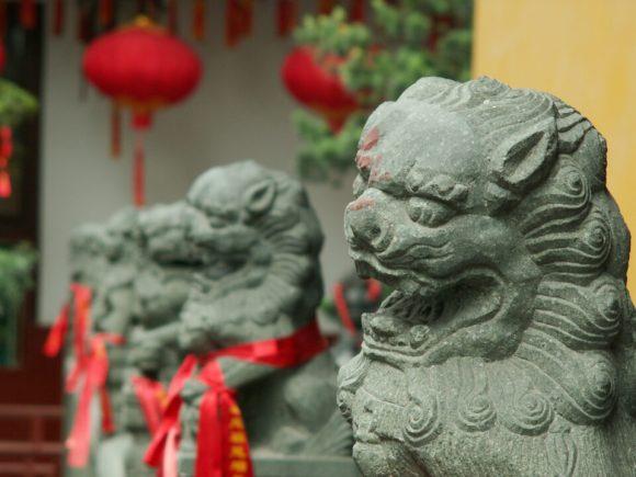 Китайские львы