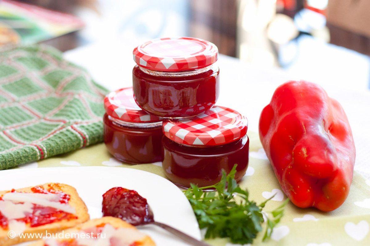 Варенье из красного острого перца