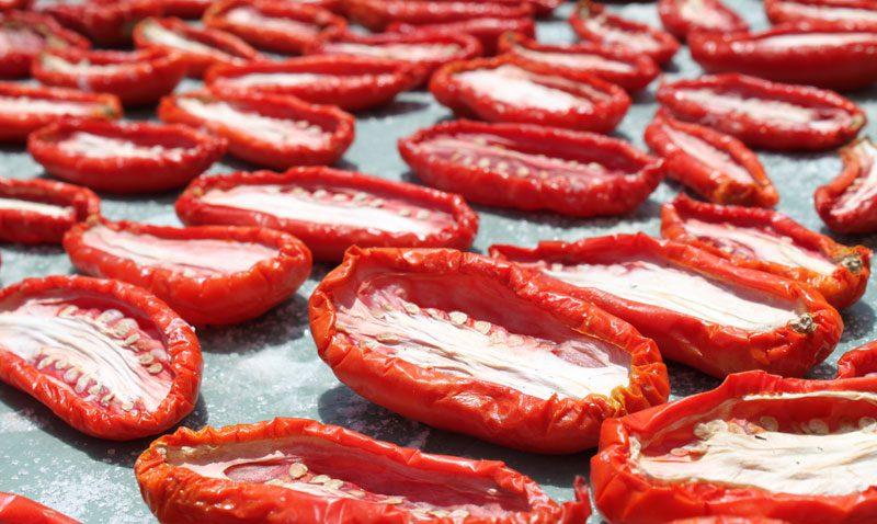 3-4 дни сушки томатов
