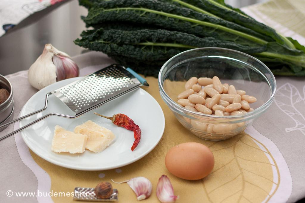 Ингредиенты для тосканского супа страччателла