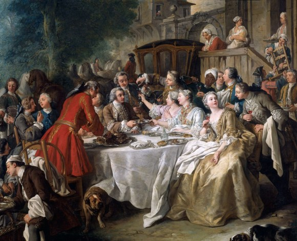 1737 Jean Francois de Troy A Hunting Meal