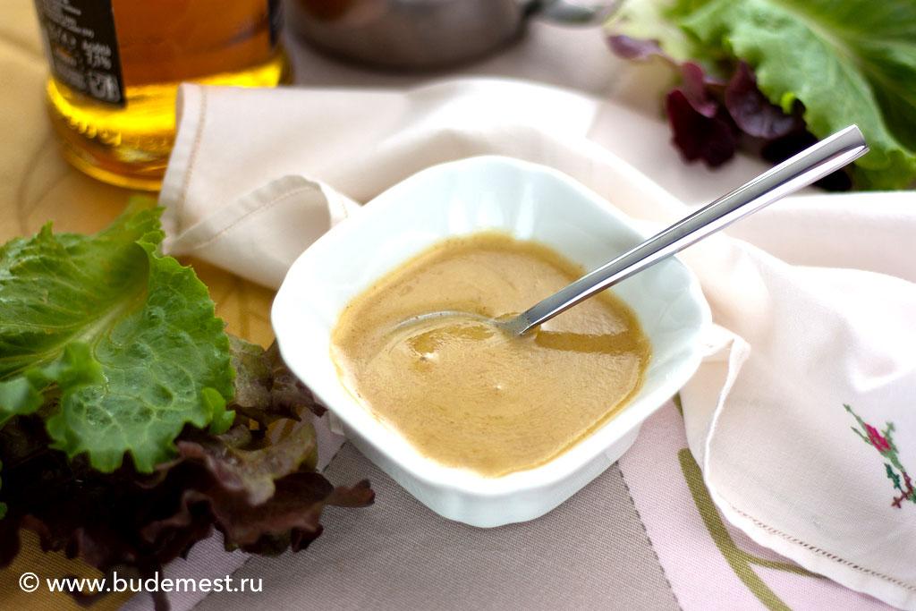 Горчичный соус винегет