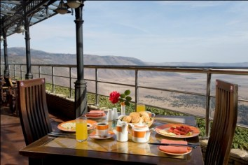 Break Fast at Ngorongoro Wildlife Lodge