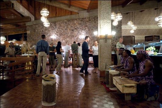 Buffet Dinner at Seronera Wildlife Lodge