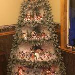 Diy Corner Christmas Tree Village Stand Id 393459 By Budget101 Com