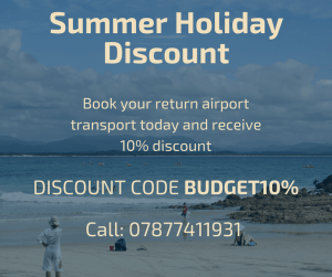 Popular Airport Transfers and taxis for summer holidays transport discount