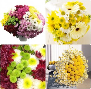 autumn wedding flowers mums