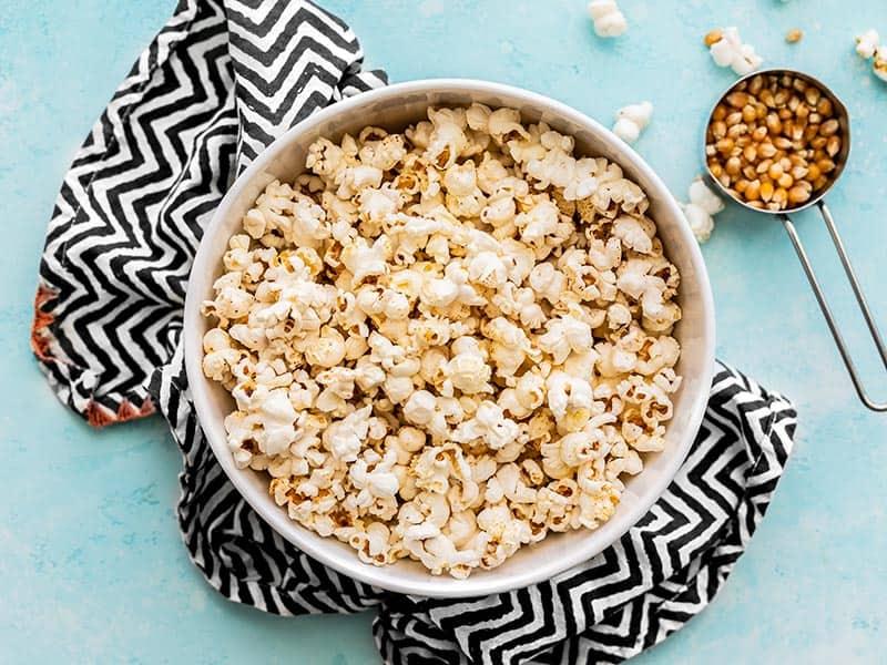 easy stovetop popcorn recipe