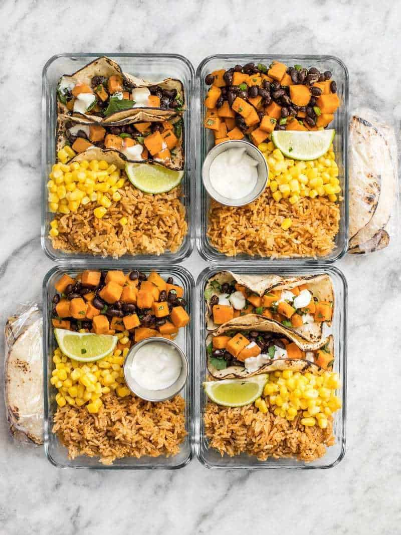 cold lunch ideas meal prep recipes