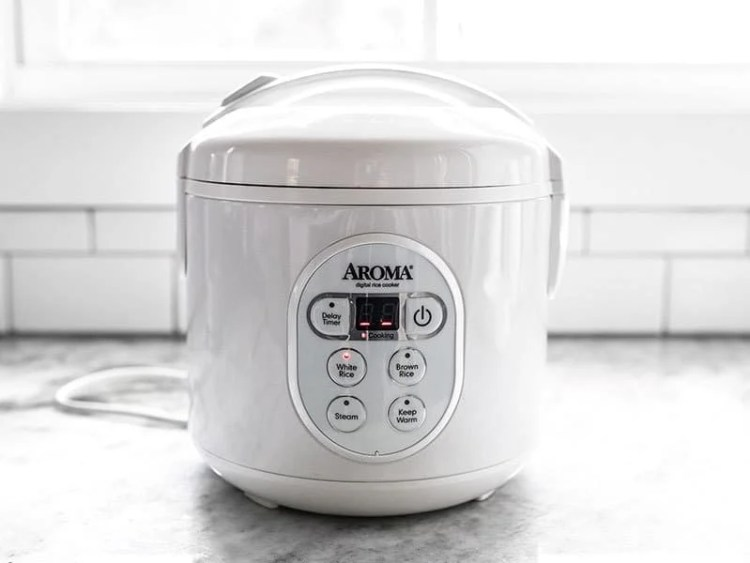 Add Beef to Rice Cooker