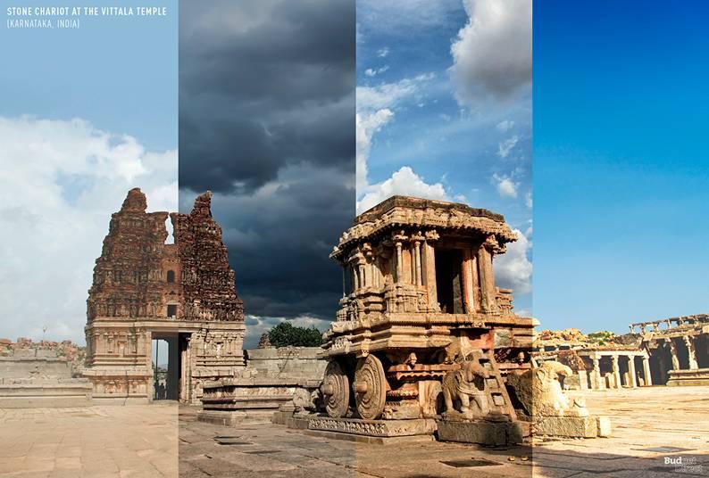 Stone Chariot at the Vittala Temple (Karnataka, India)