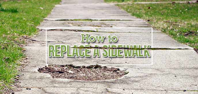 repair or replace your sidewalk in a