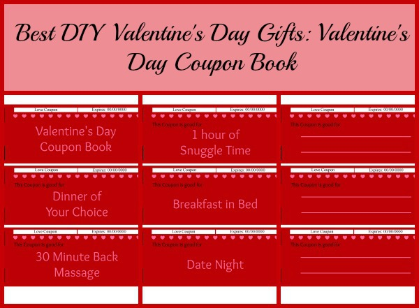 Best DIY Valentines Day Gifts Valentines Day Coupon
