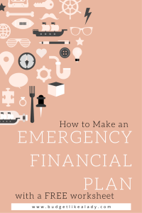 Emergency Financial Plan