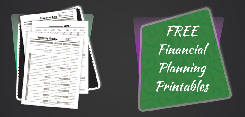 image about Free Printable Financial Planner named Absolutely free Economical Designing Printables - Price range Including a Female