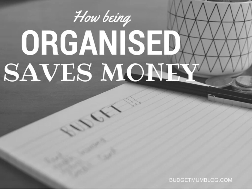 How being unorganised wastes money