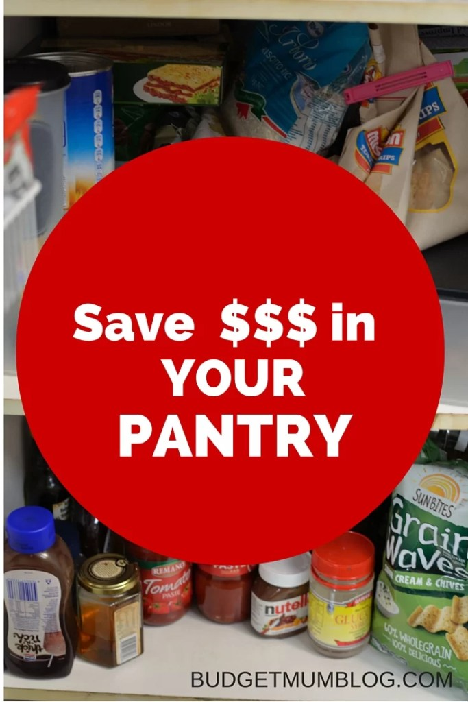not waste money in your pantry