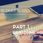 Budget series 1 – developing your budget