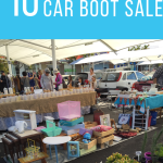 The best tips for a Car Boot Sale