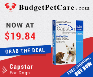 Capstar is the fastest flea killer that eliminates almost 100% adult fleas in a short span of 5-7 hours. Get this efficient oral tablet at cheapest price from budgetpetcare.com.