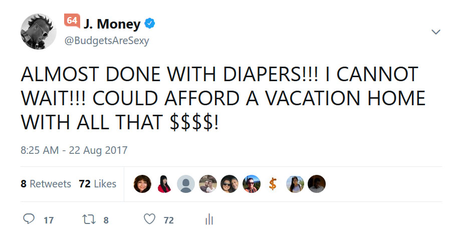 done with diapers tweet